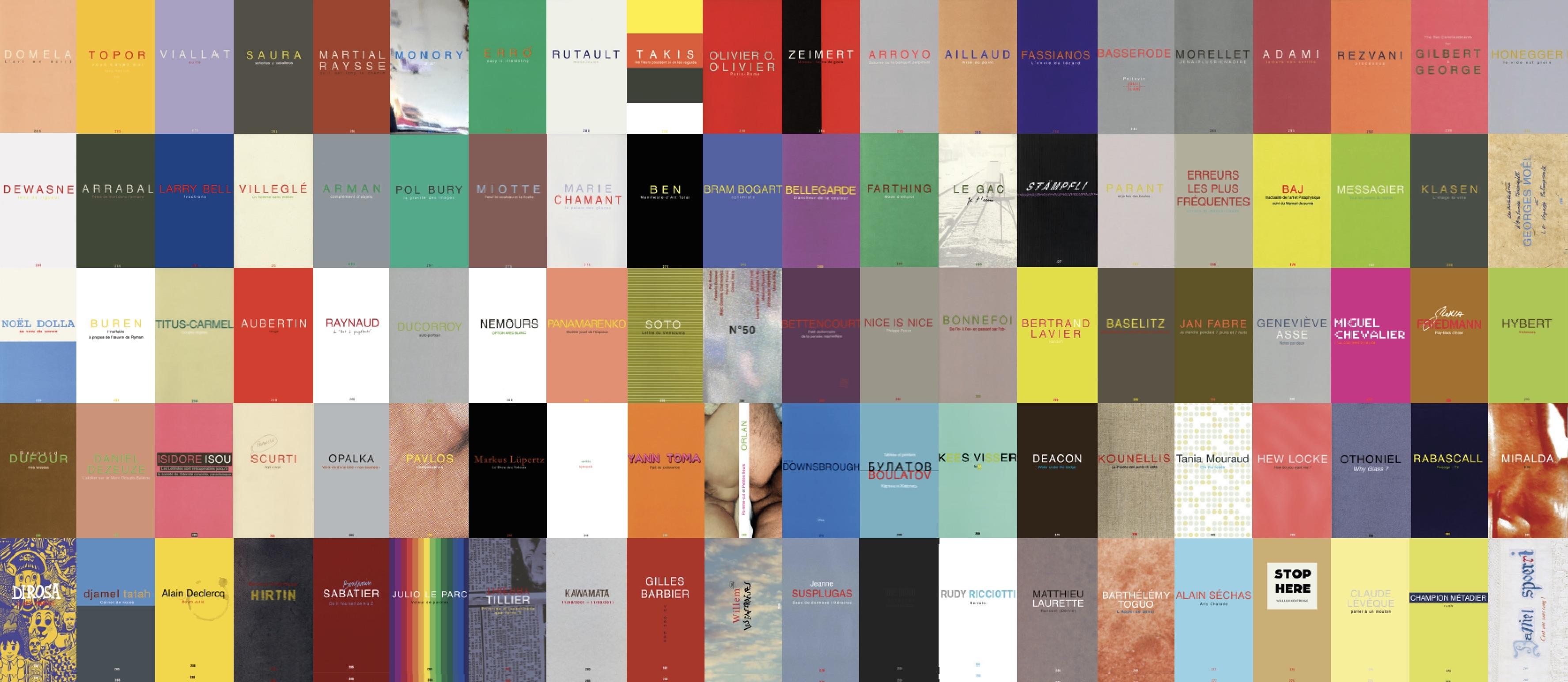 editions Jannink, collection complète