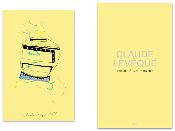 Claude Lévêque, Parler à un mouton